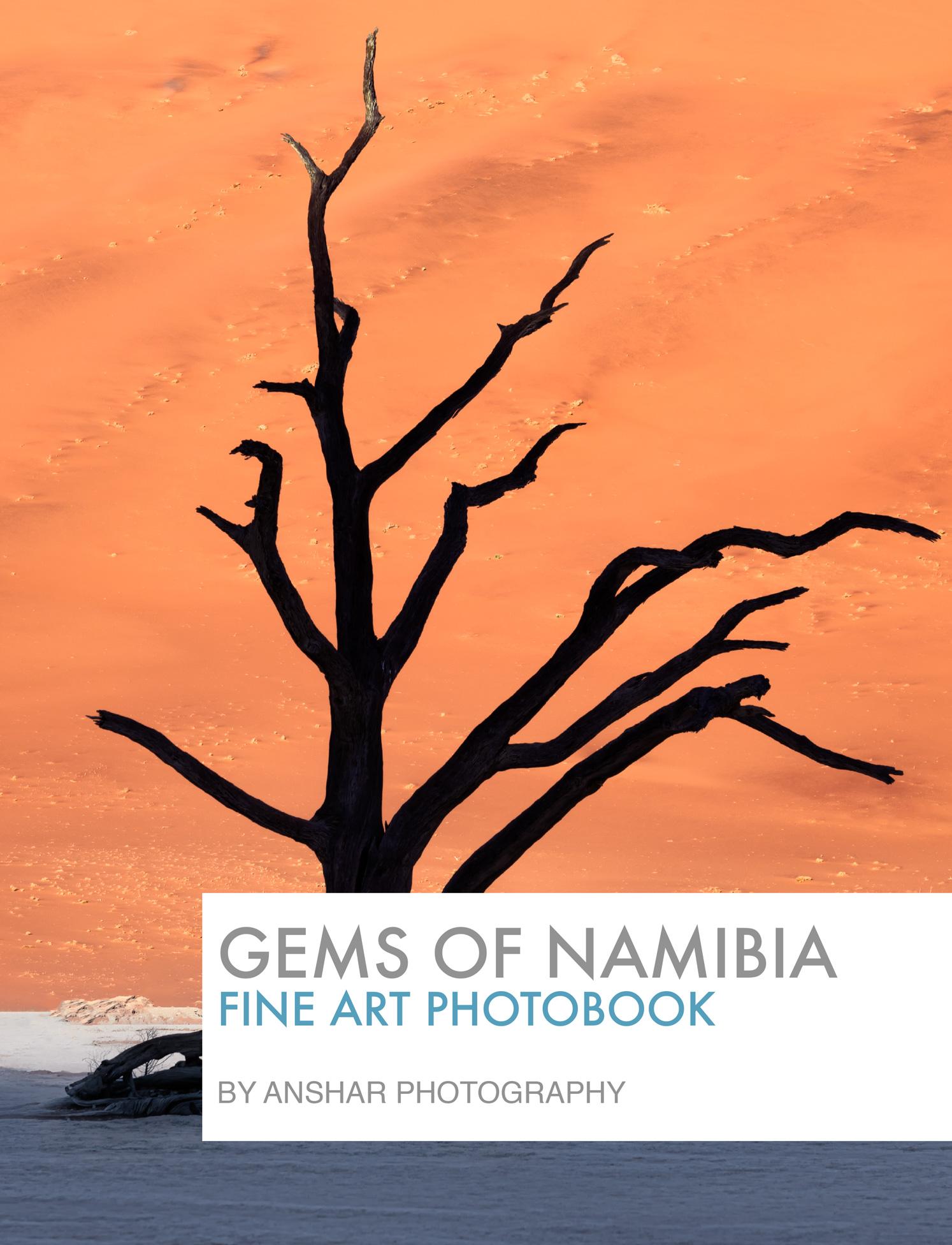 Gems of Namibia Fine Art Photobook by Anshar Photography